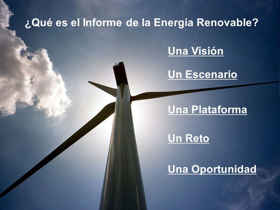 ¿Qué es el Informe de la Energía Renovable.