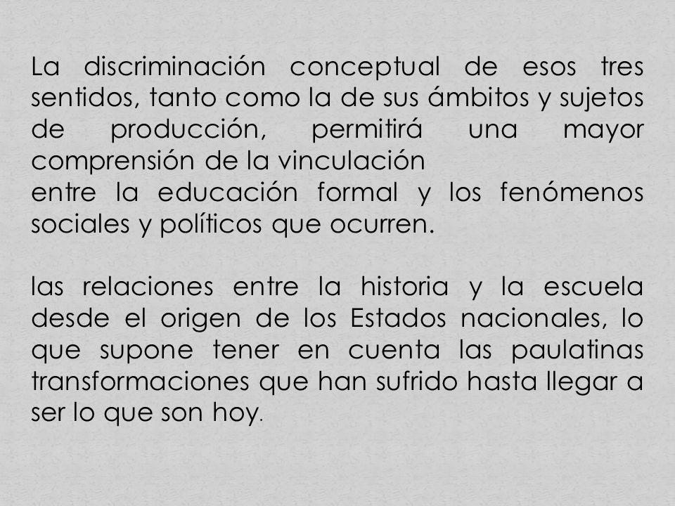 Los debates sobre la enseñanza de la Historia acontecidos en la década de 1990 cinco países: los Estados Unidos, México, Estonia, Alemania y España.