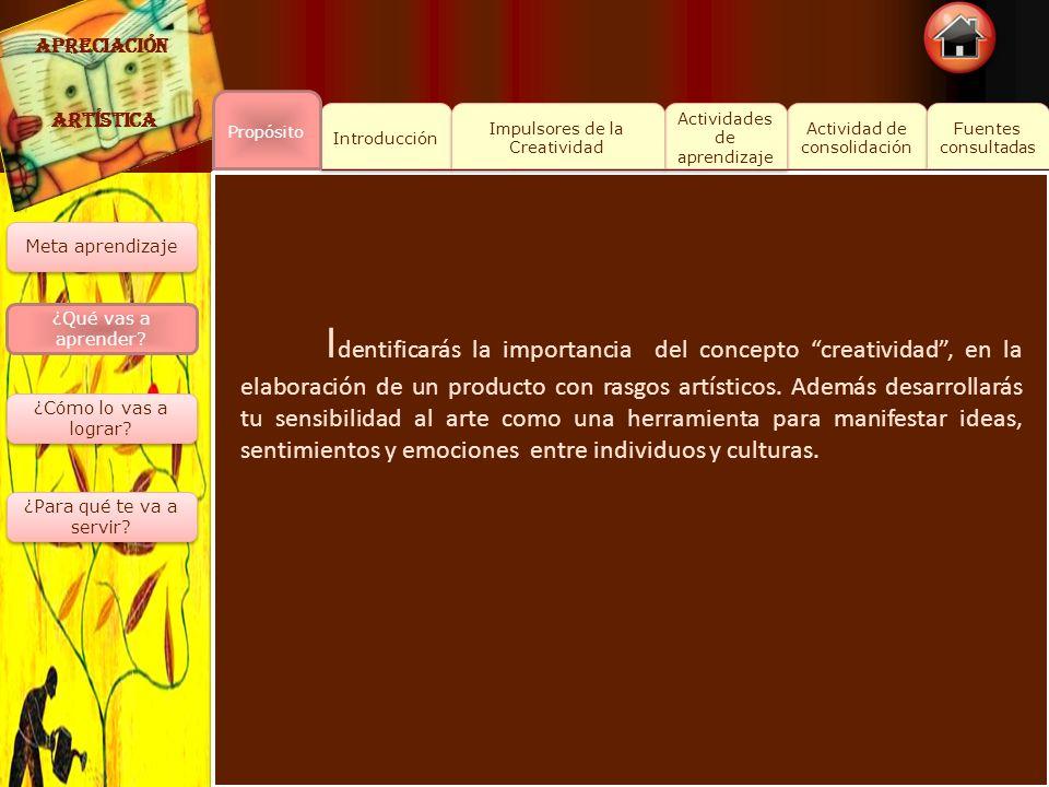 Actividad de consolidación Actividad de consolidación Fuentes consultadas Fuentes consultadas Introducción Actividades de aprendizaje Actividades de a