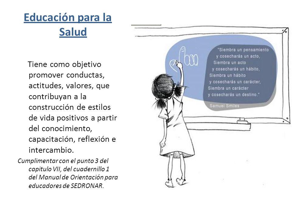 PROMOCIÓN DE LA SALUD Ha sido definida como la suma de las acciones, integradas, desarrolladas por todos los sectores sociales, encaminadas a desarrollar mejores condiciones de salud individual y colectiva para toda la población; llevadas a cabo en su contexto.