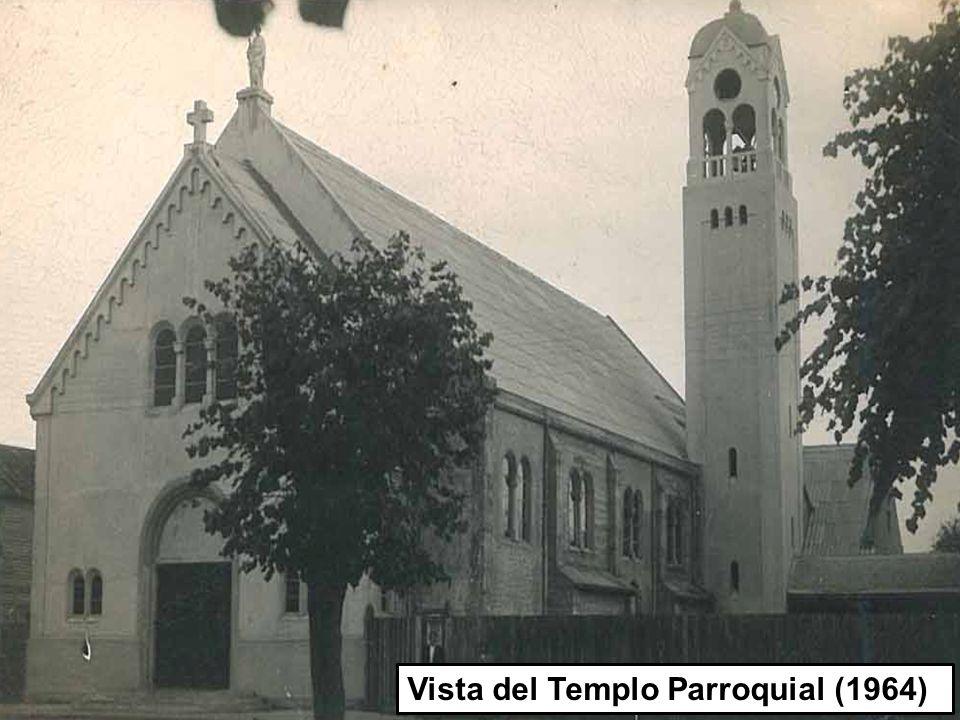 1 1 Vista del Templo Parroquial (1964)