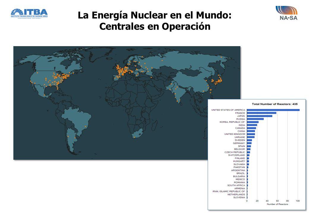 La Energía Nuclear en el Mundo: Centrales en Construcción