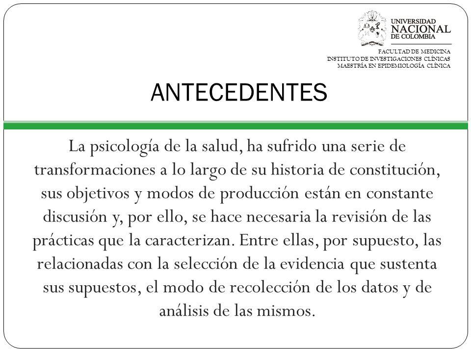 RESULTADOS GENERALES Siguiendo los criterios de inclusión y de exclusión antes especificados, en total se analizaron 42 artículos, 12 de la Revista Latinoamericana de Psicología y 30 de Universitas Psychologica.