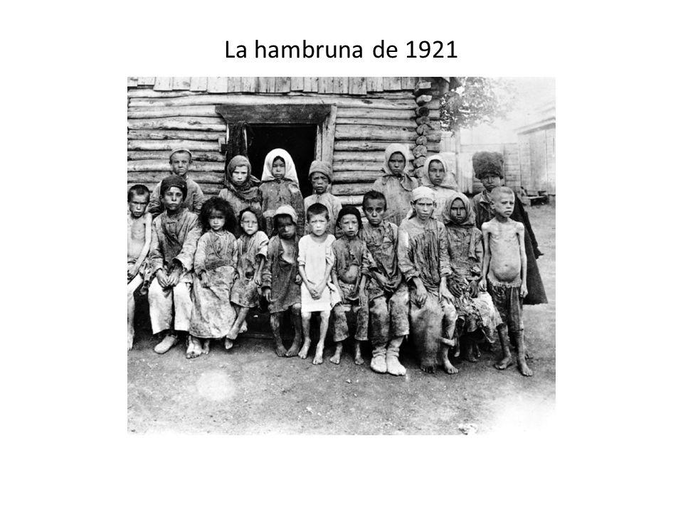 La hambruna de 1921