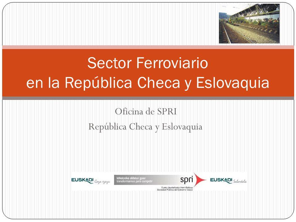 Oficina de SPRI República Checa y Eslovaquia Sector Ferroviario en la República Checa y Eslovaquia