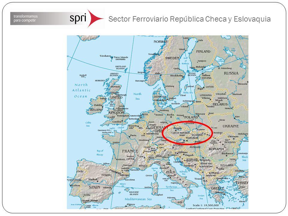 Sector Ferroviario República Checa Eslovaquia Corredores Pan-Europeos en Eslovaquia
