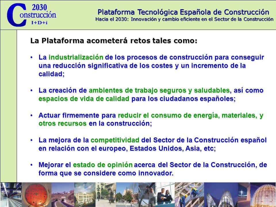 Plataforma Tecnológica Española de Construcción Hacia el 2030: Innovación y cambio eficiente en el Sector de la Construcción ¿Como participar en la PTEC.