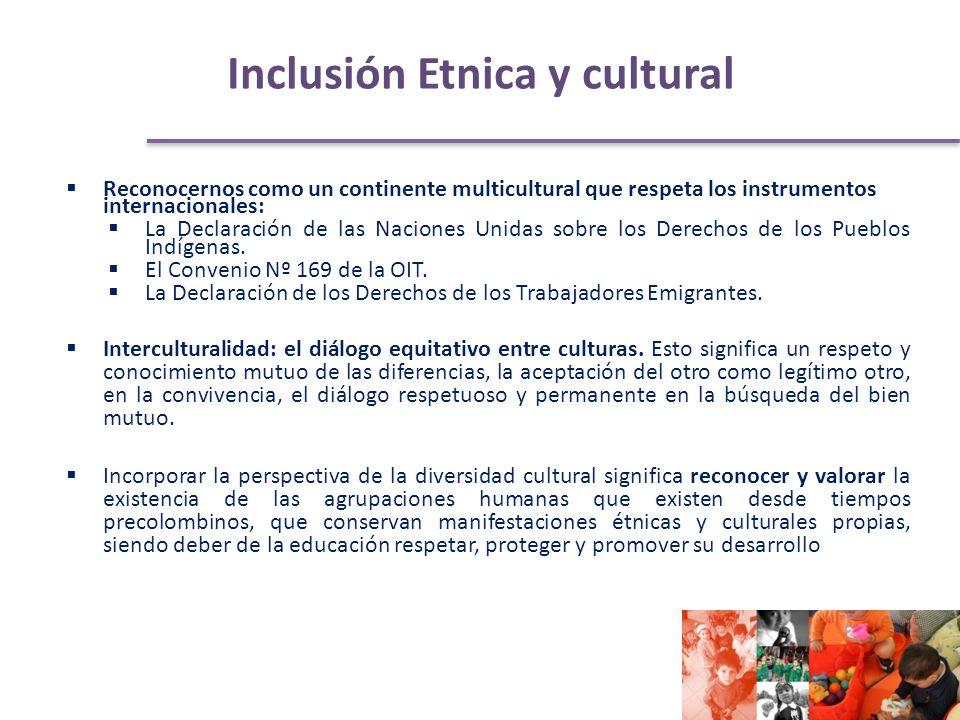 Reconocernos como un continente multicultural que respeta los instrumentos internacionales: La Declaración de las Naciones Unidas sobre los Derechos de los Pueblos Indígenas.