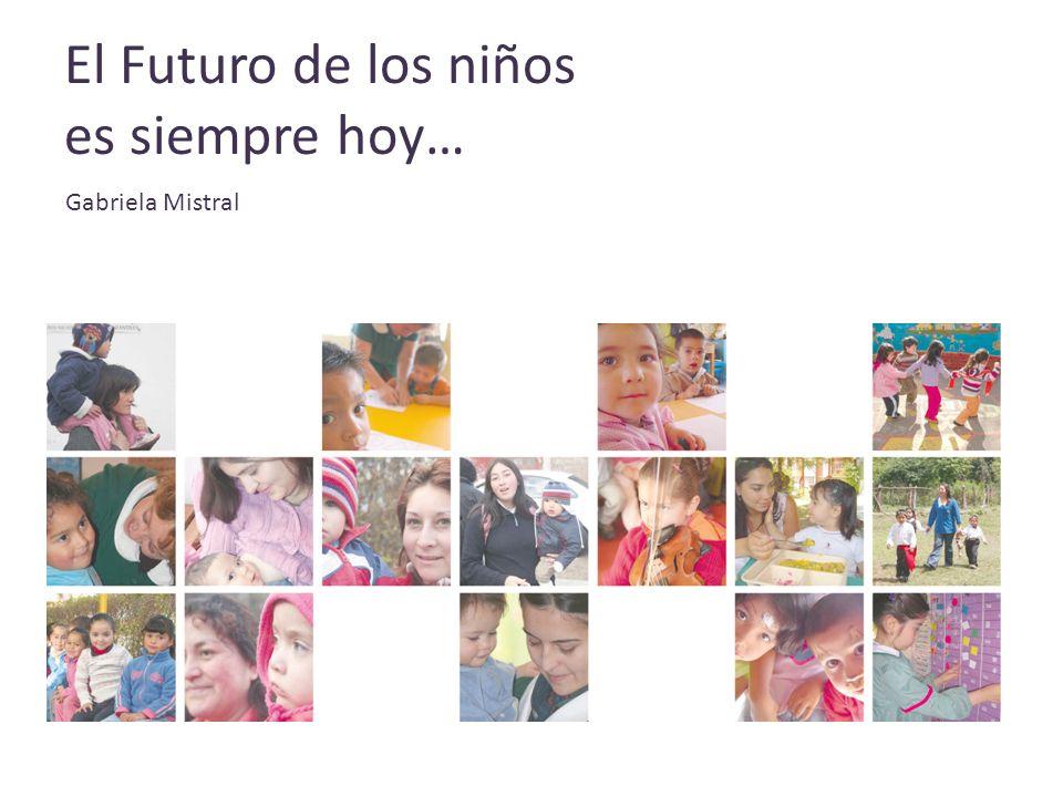 El Futuro de los niños es siempre hoy… Gabriela Mistral