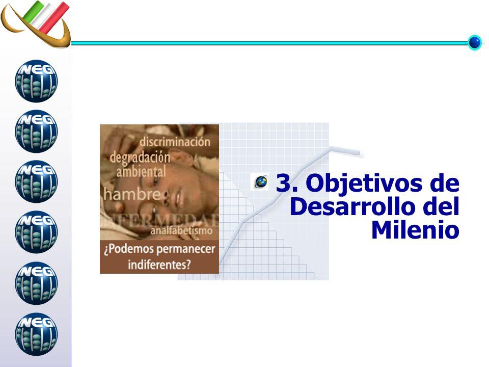 3. Objetivos de Desarrollo del Milenio