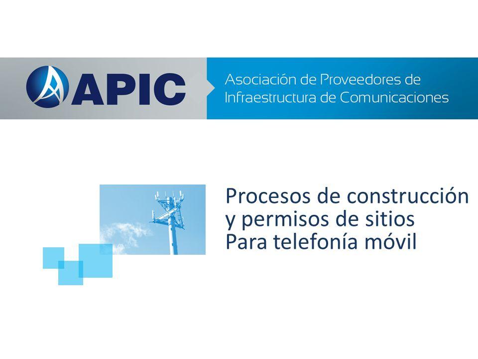 Procesos de construcción y permisos de sitios Para telefonía móvil