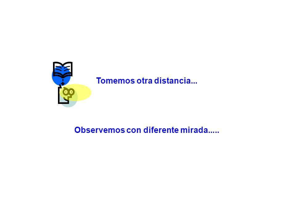 Tomemos otra distancia... Observemos con diferente mirada.....