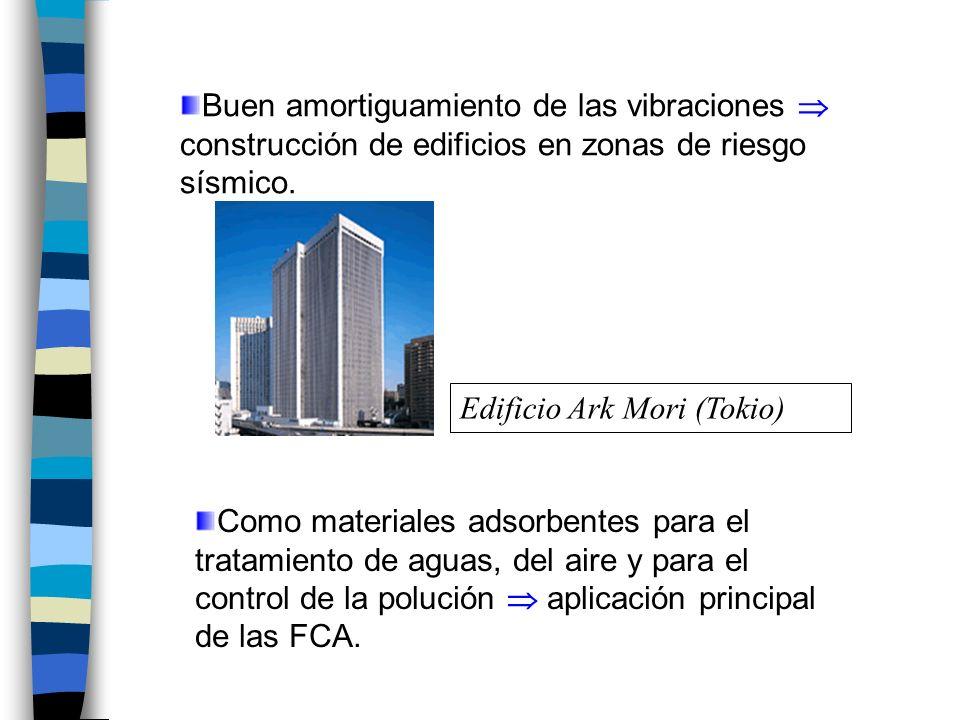 Buen amortiguamiento de las vibraciones construcción de edificios en zonas de riesgo sísmico.