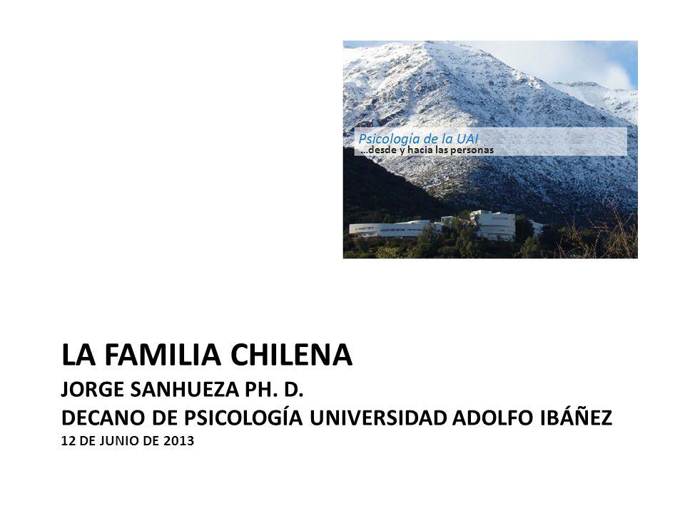 LA FAMILIA CHILENA JORGE SANHUEZA PH. D.