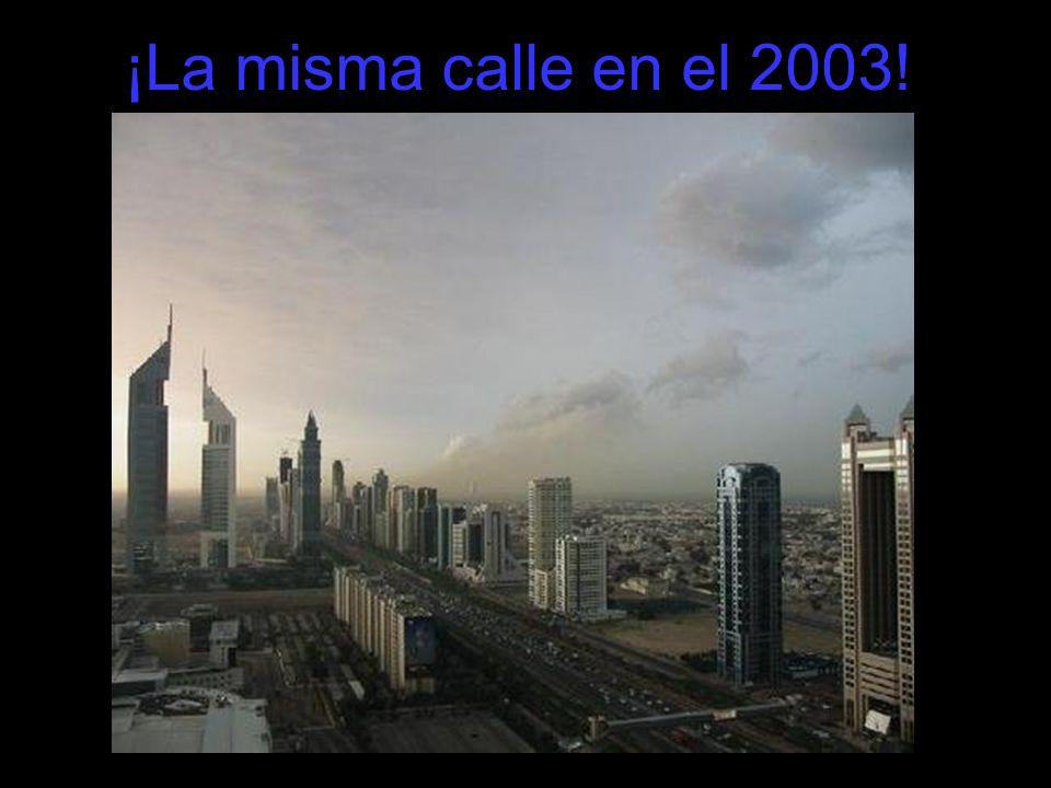 Así se verá el centro de Dubai entre el 2008 y 2009.