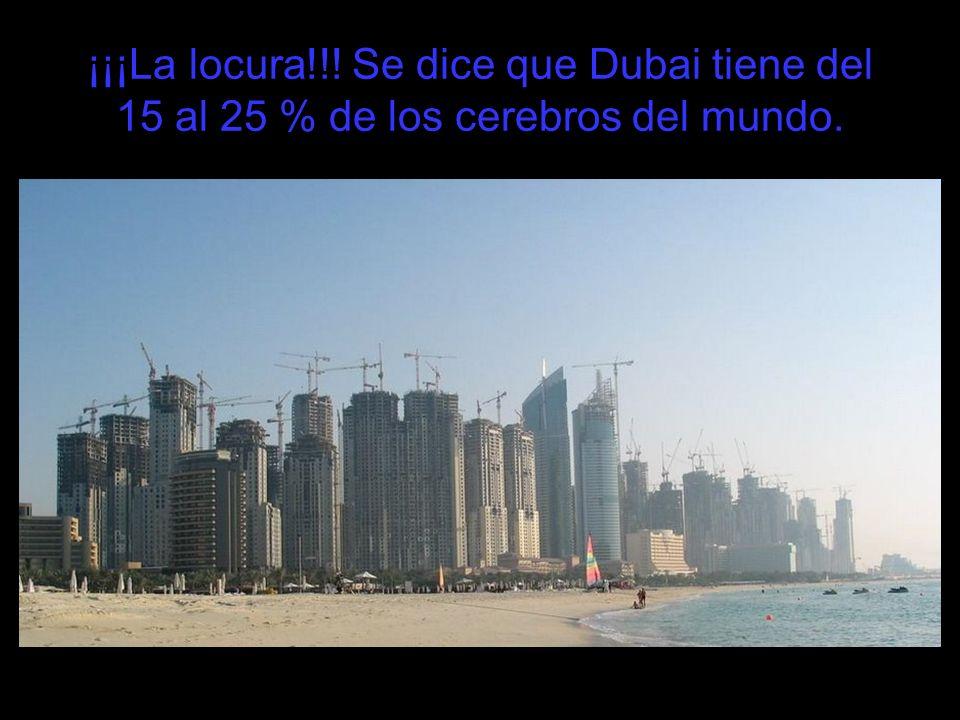 El frente portuario de Dubai.