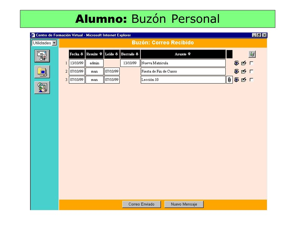 Alumno: Buzón Personal