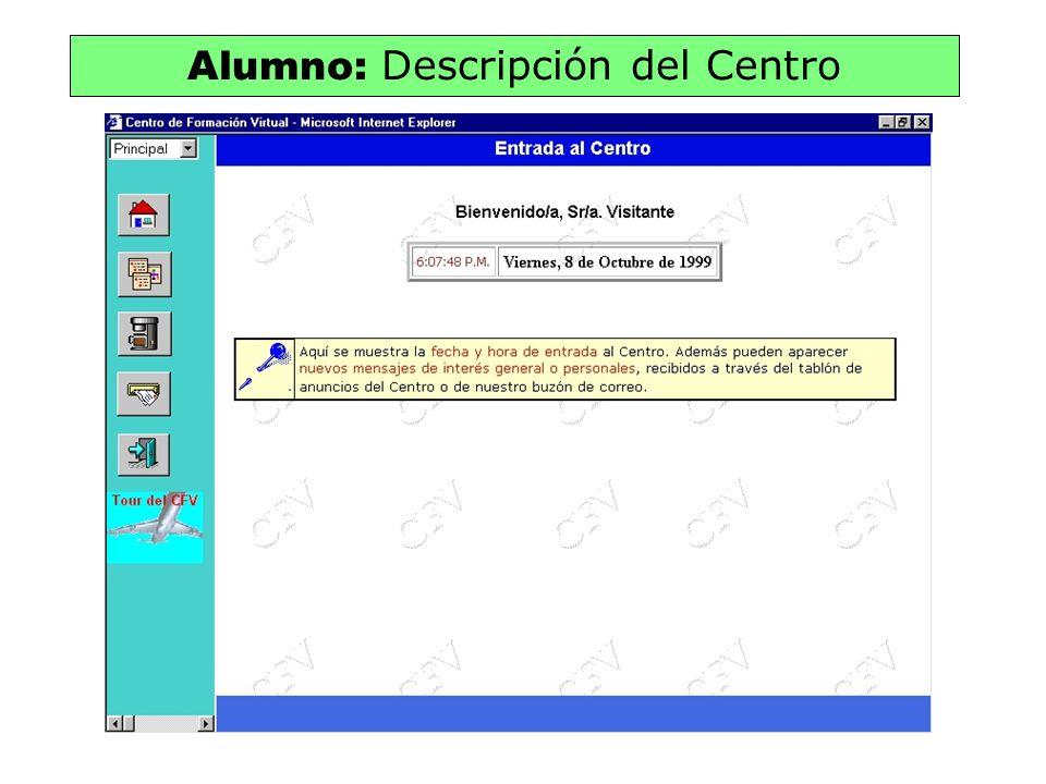 Alumno: Descripción del Centro