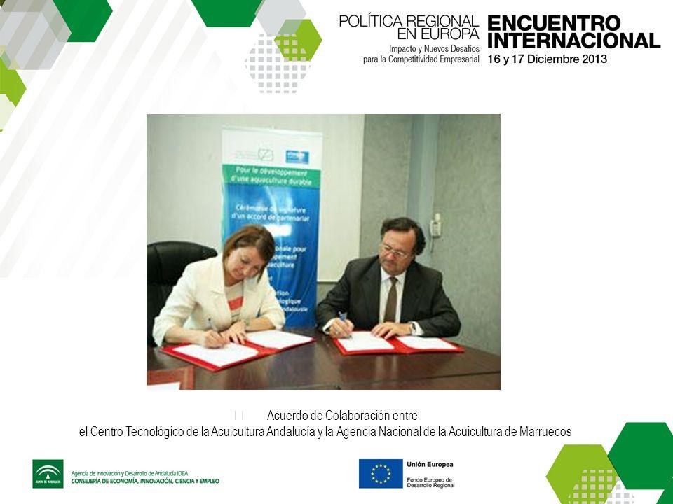 Acuerdo de Colaboración entre el Centro Tecnológico de la Acuicultura Andalucía y la Agencia Nacional de la Acuicultura de Marruecos