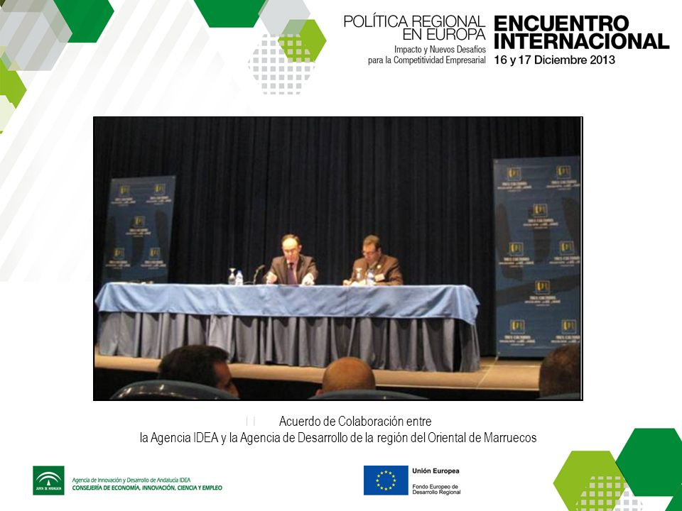 Acuerdo de Colaboración entre la Agencia IDEA y la Agencia de Desarrollo de la región del Oriental de Marruecos