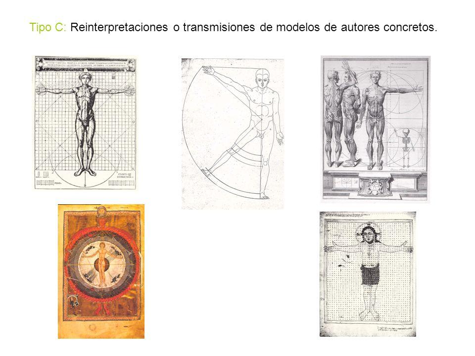 Tipo C: Reinterpretaciones o transmisiones de modelos de autores concretos.