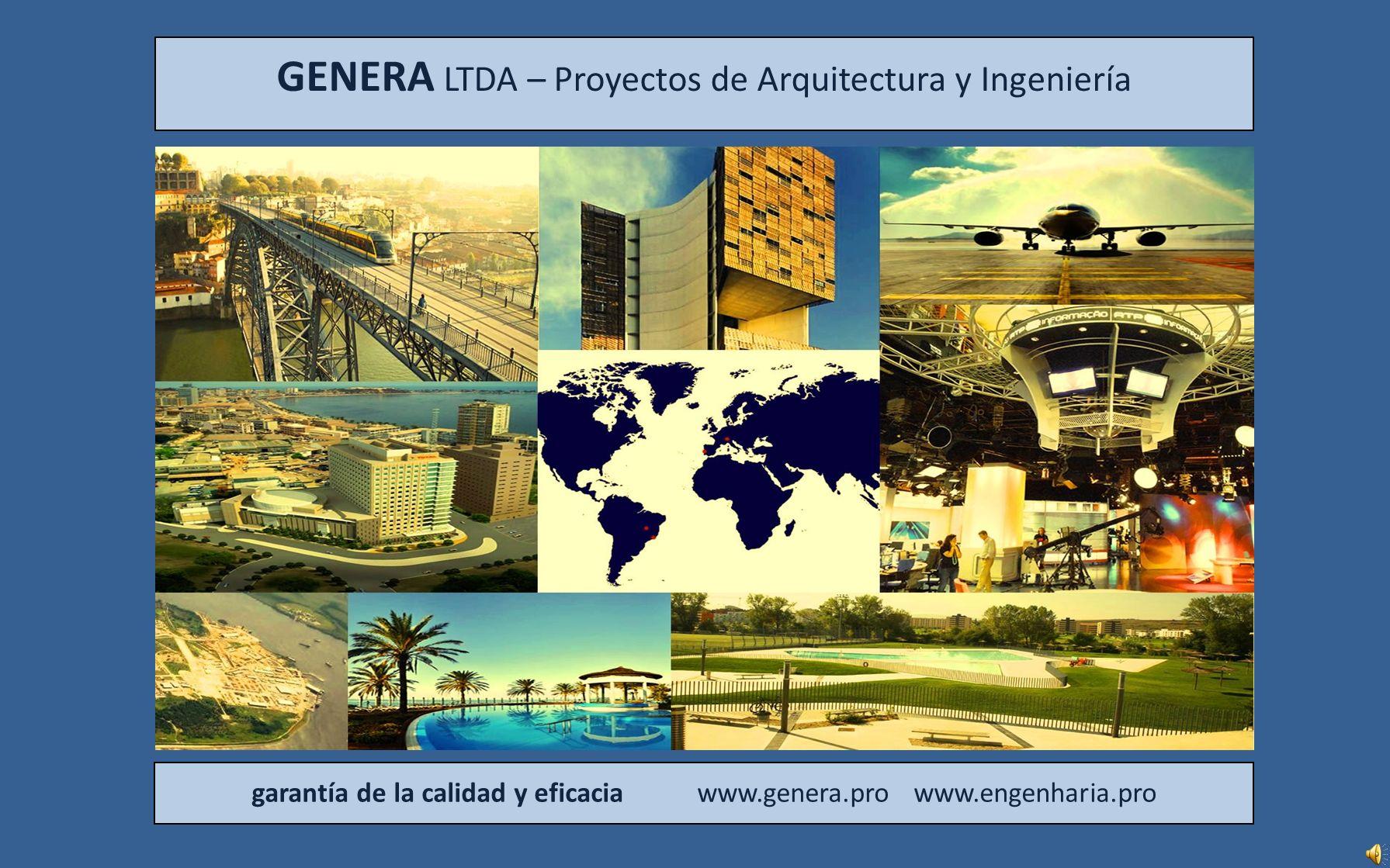 21 genera Centro de difusión RTP – Lisboa – Portugal Consultoría y revisión de proyectos de ingeniería del centro de difusión internacional de Radio y Televisión de Portugal.