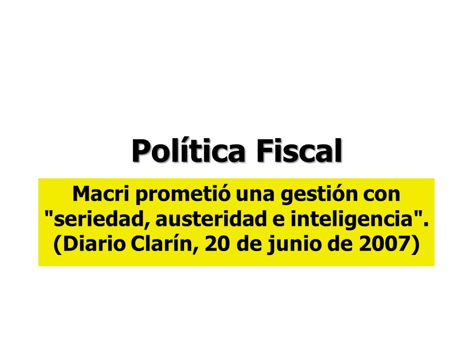 Macri prometió una gestión con seriedad, austeridad e inteligencia .