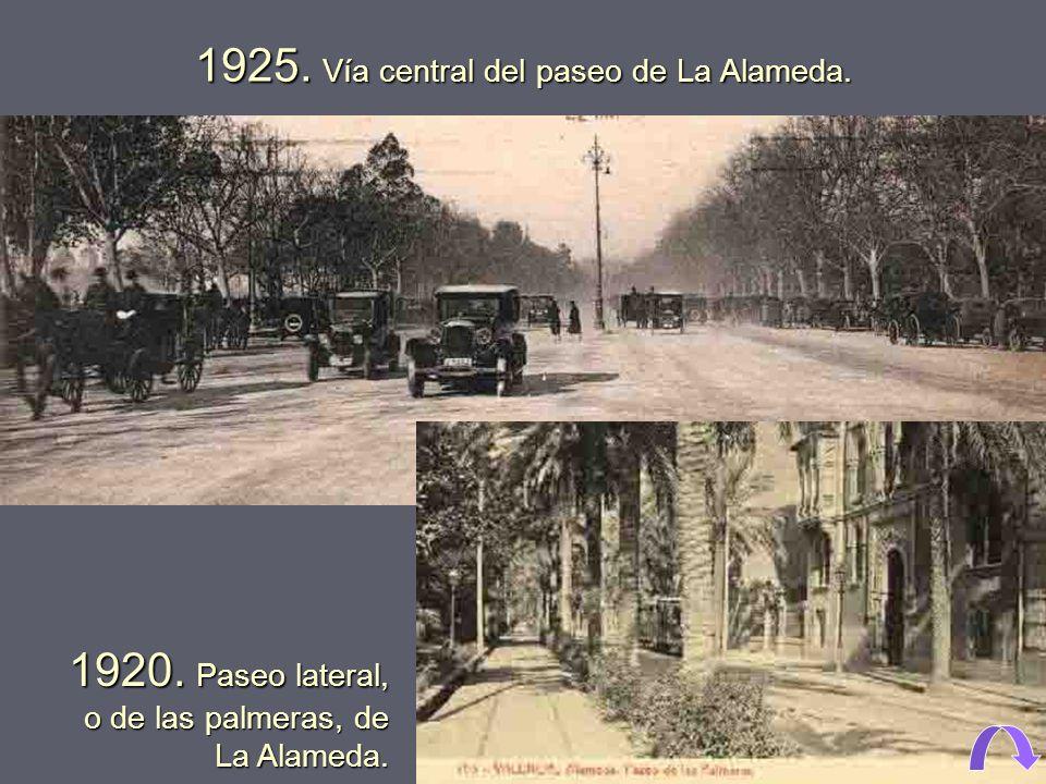 1914. Vista aérea del edificio de Tabacalera (Palacio de la Industria), del palacio Municipal de la Exposición (1909) y del Gran Casino. Se están edif