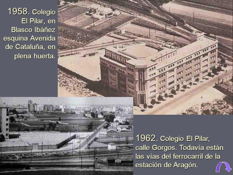 1970. Grada de general del campo de Mestalla. General de pie Remodelación años 50 Remodelación 1978 Luz artificial, inaugurada en 1959