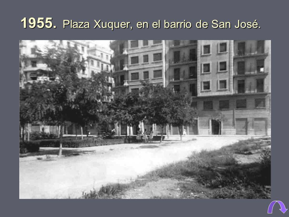 1971. Barrio de San José.