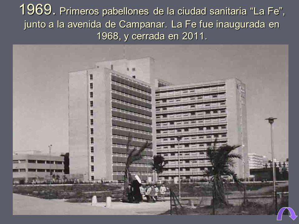 1963. Construcción de la estación de autobuses, para centralizar y sustituir a las que cada compañía tenía por toda la ciudad. 1970
