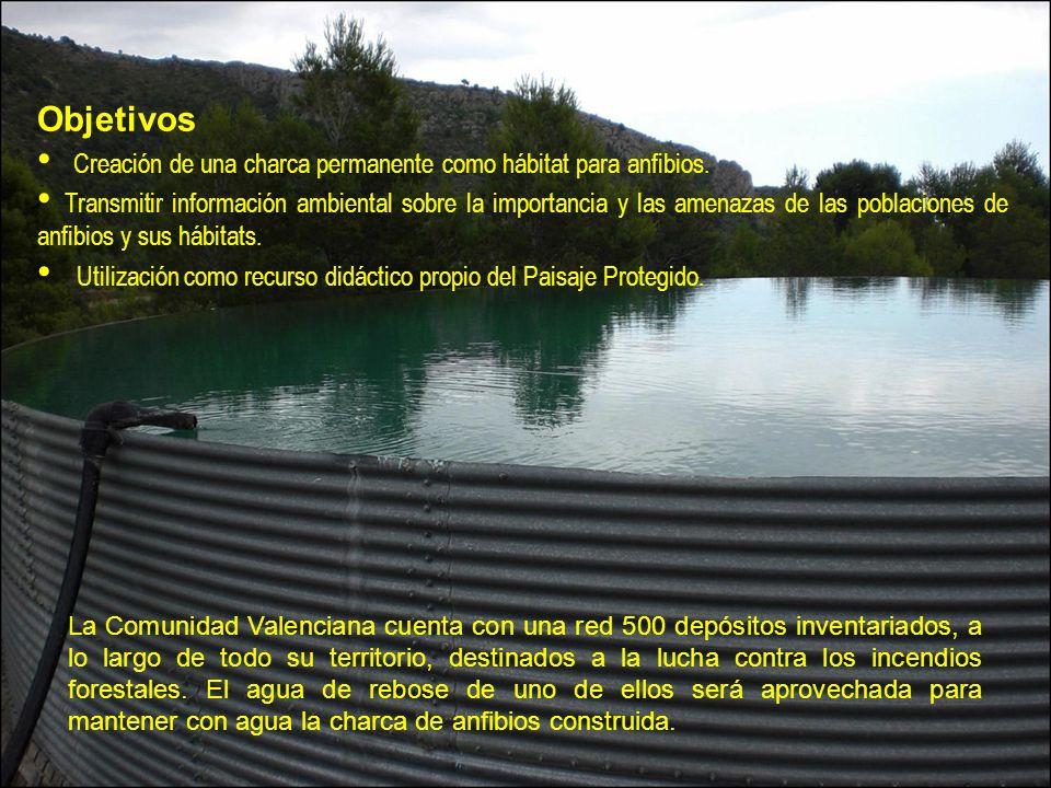 La Comunidad Valenciana cuenta con una red 500 depósitos inventariados, a lo largo de todo su territorio, destinados a la lucha contra los incendios forestales.