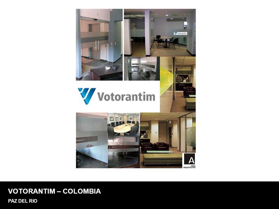 VOTORANTIM – COLOMBIA PAZ DEL RIO