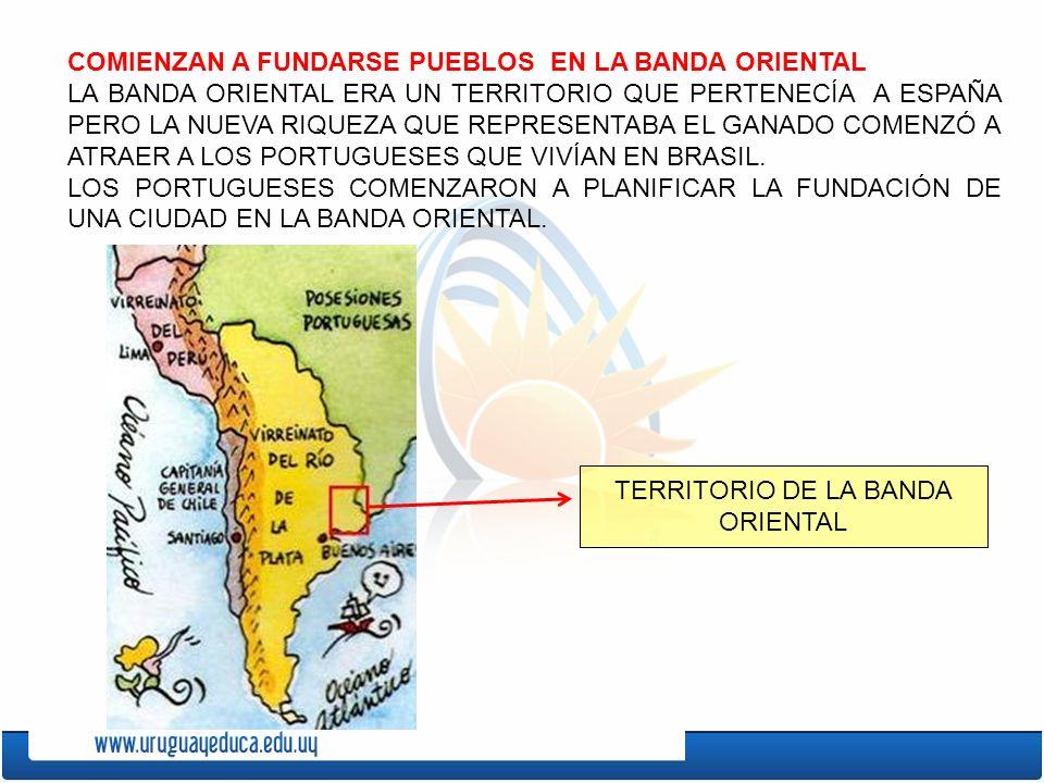 LOS ESPAÑOLES INTRODUJERON CABALLOS Y VACUNOS EN LA BANDA ORIENTAL. EL GANADO SE REPRODUJO Y LLEGÓ A HABER MILLONES DE VACUNOS SIN DUEÑO. MUCHAS PERSO