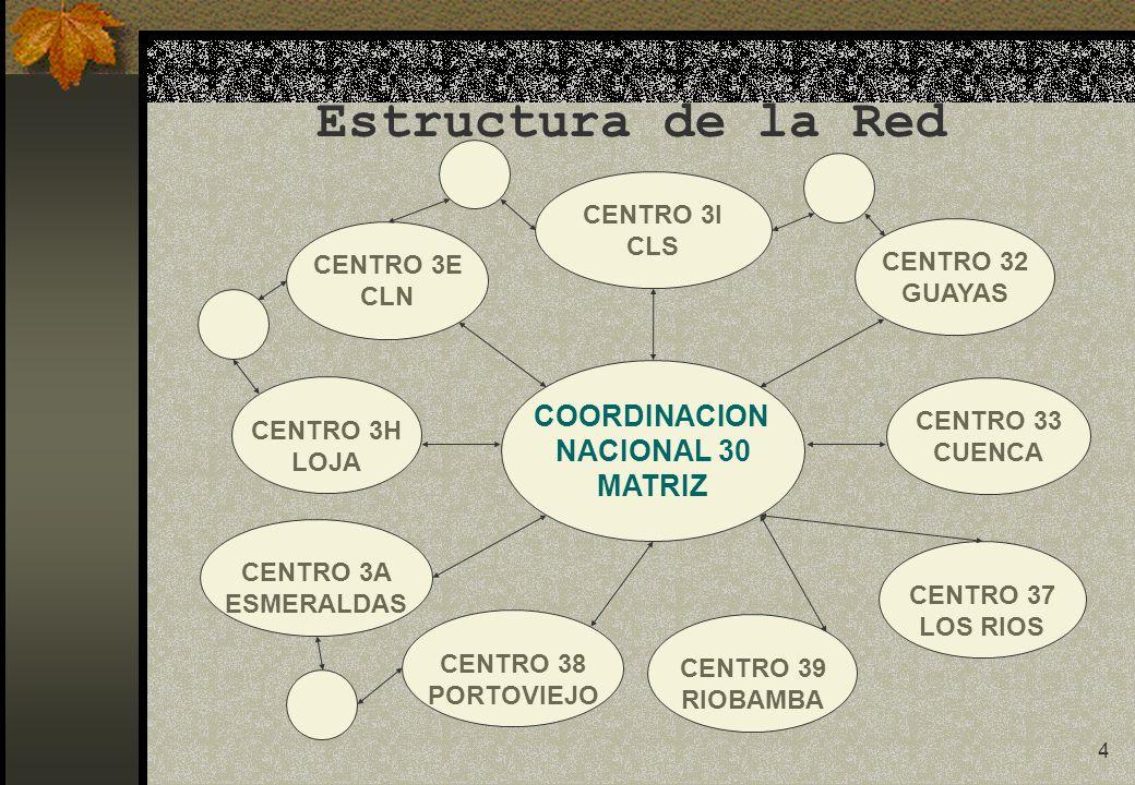 5 PLAN DE TRABAJO 2003-2007