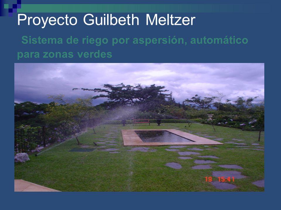 Proyecto Guilbeth Meltzer Sistema de riego por aspersión, automático para zonas verdes