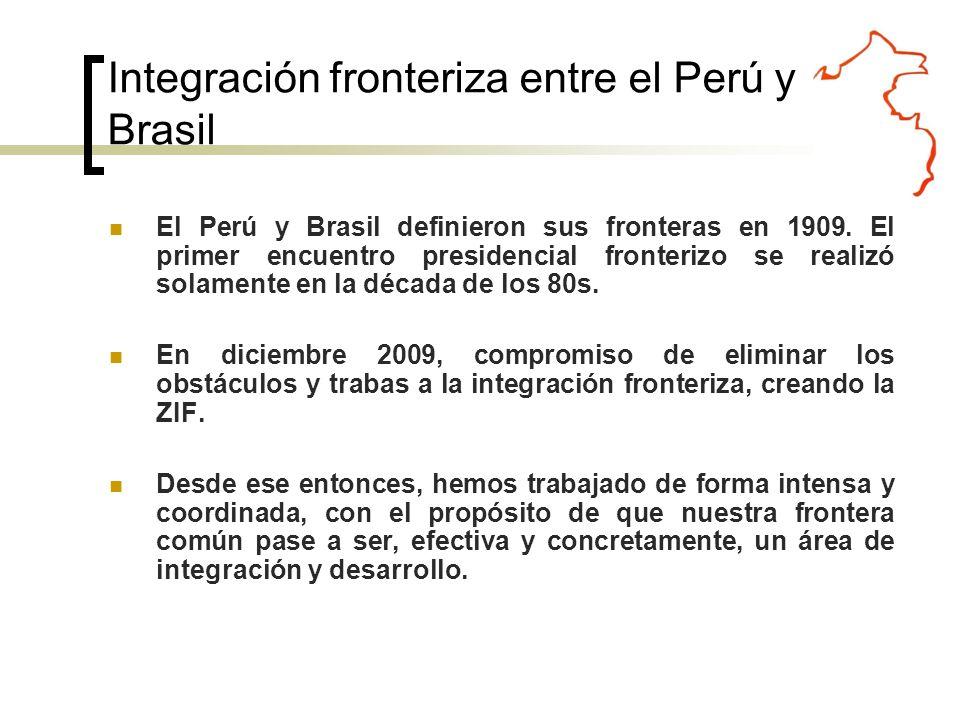 El Perú y Brasil definieron sus fronteras en 1909.