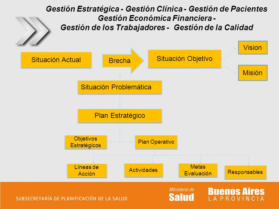 Gestión Estratégica - Gestión Clínica - Gestión de Pacientes Gestión Económica Financiera - Gestión de los Trabajadores - Gestión de la Calidad Situac