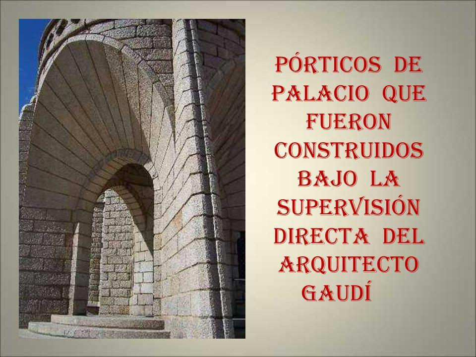 UN POCO DE HISTORIA - Siendo obispo de Astorga JUAN BAUTISTA GRAU encargó al prestigioso arquitecto catalán ANTONI O GAUDÍ CORNET en febrero de 1887,l