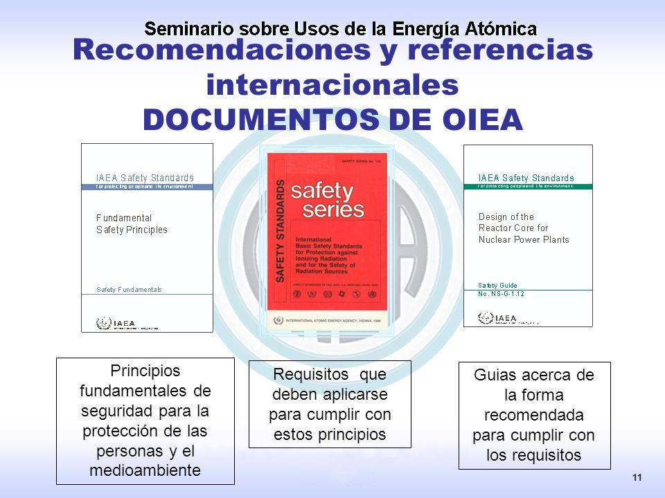 Principios fundamentales de seguridad para la protección de las personas y el medioambiente Requisitos que deben aplicarse para cumplir con estos prin