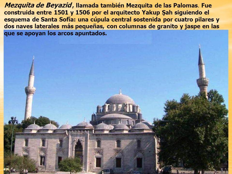 Mezquita de Beyazid o de las Palomas