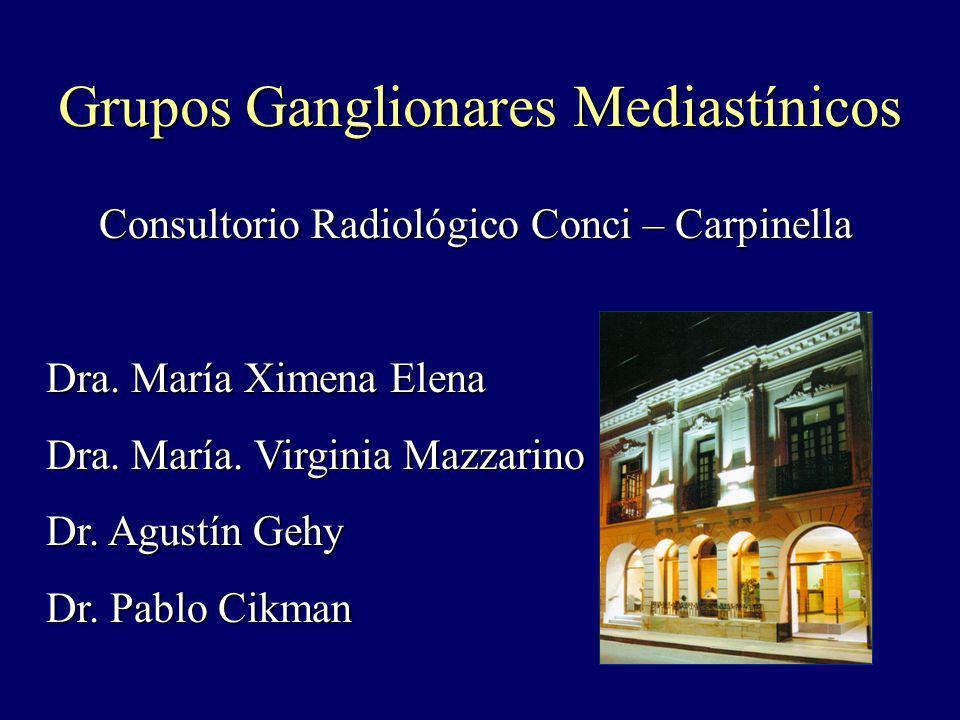 Consultorio Radiológico Conci – Carpinella Consultorio Radiológico Conci – Carpinella Dra. María Ximena Elena Dra. María. Virginia Mazzarino Dr. Agust
