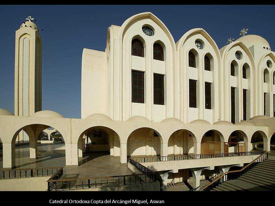 Catedral Ortodoxa Copta del Arcángel Miguel, Aswan