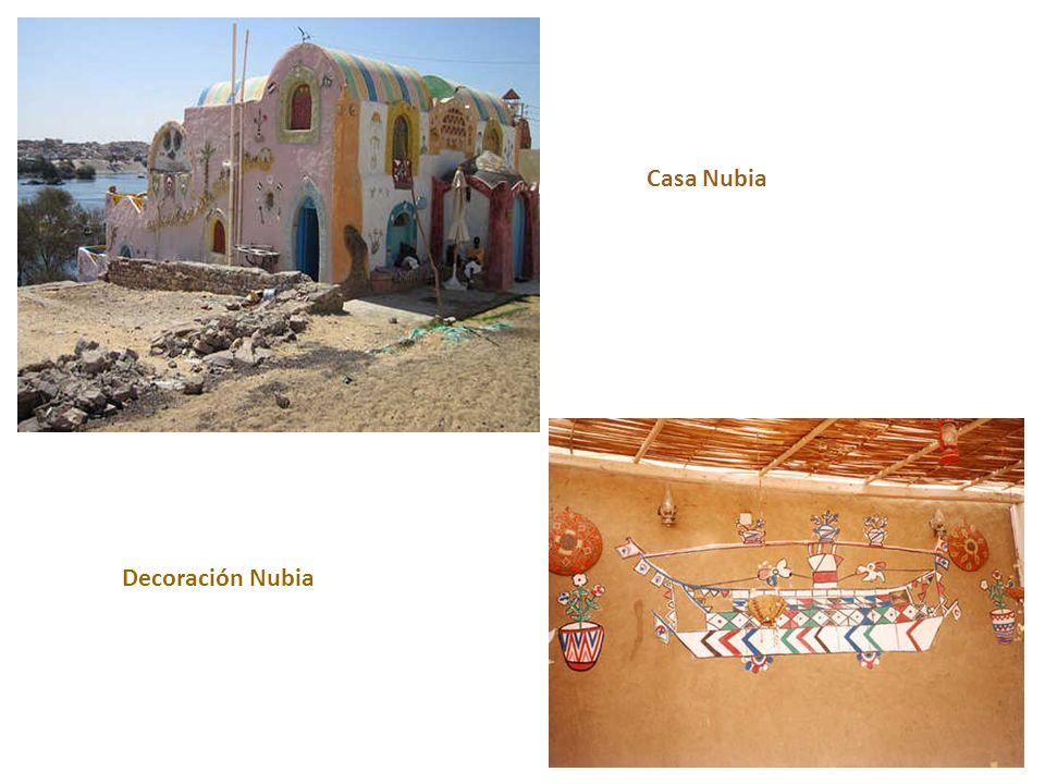 Decoración Nubia