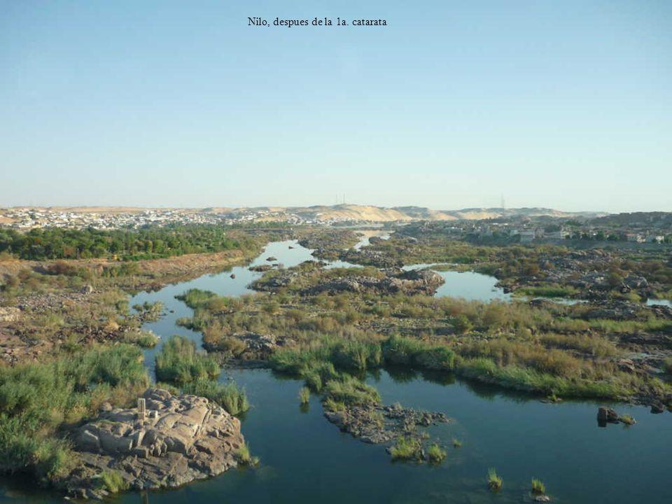 Nilo, despues de la 1a. catarata