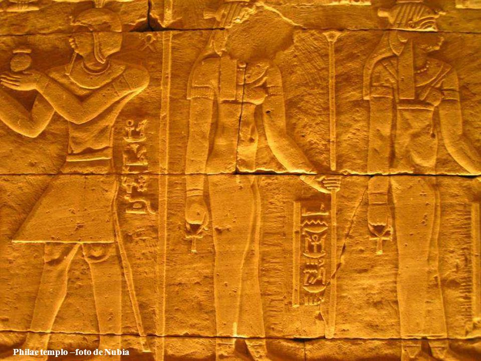 Philae templo –foto de Nubia