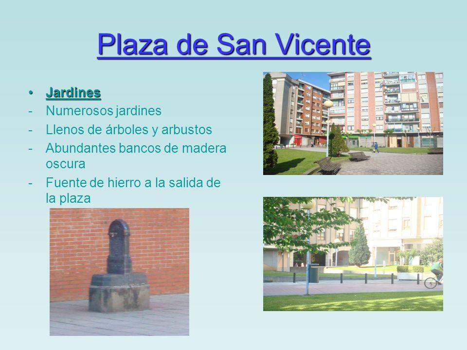 Plaza de Los Fueros Antes …