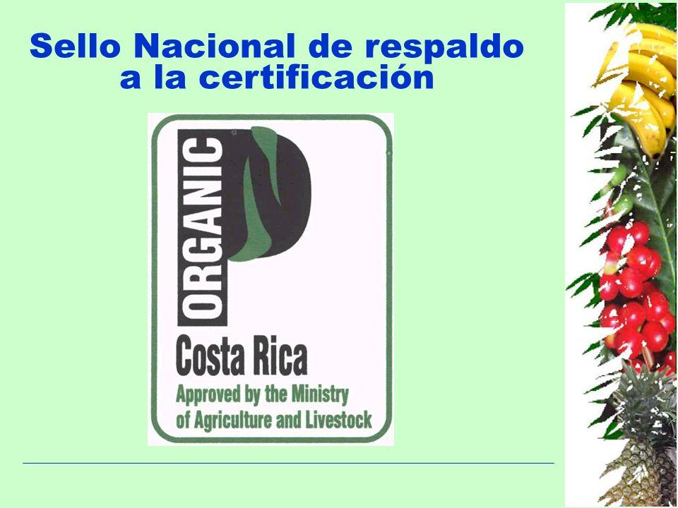 Sello Nacional de respaldo a la certificación