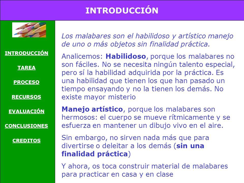 Educación Física CONSTRUCCIÓN DE MALABARES
