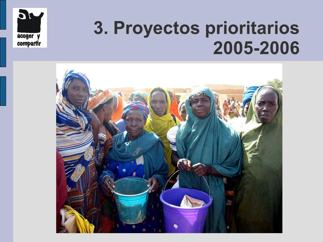 3. Proyectos prioritarios 2005-2006
